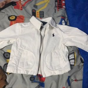 White polo toddler jacket 18 months!